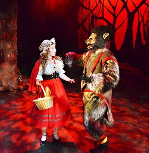 Into The Woods Wolf And Little Red Into The Woods