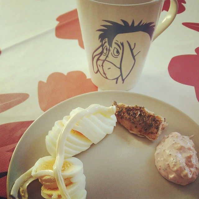 Today's breakfast. Eggs with mayo and salmon. And my #magicbulletcoffee.  #lchf #lowcarb #lowcarbhighfat #highfat #lågkolhydratskost #lågkolhydratkost #lc #glutenfree #sugarfree #sockerberoende #nevergiveup #fitness #lchftjejer #minresaräknas #keto #striktlchf #diabetes #öppendiabetes #lavkarbo #healthy #food #glutenfri #sockerfri #weightloss #instafood #viktresa #viktnedgång #like4like by lchf_soff