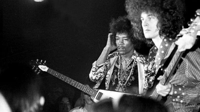 Jimi Hendrix and Noel Redding, 1968