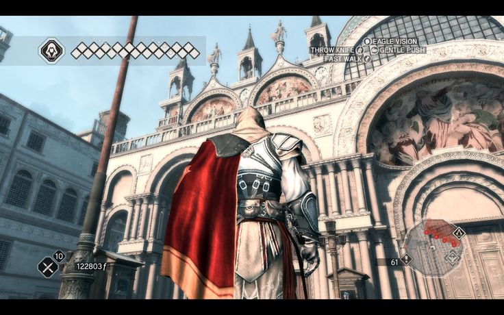I was three times in Venece, and could not see the basilica San Marco, cause of the scaffolding. I can see it at home no Assassin's Creed ;P