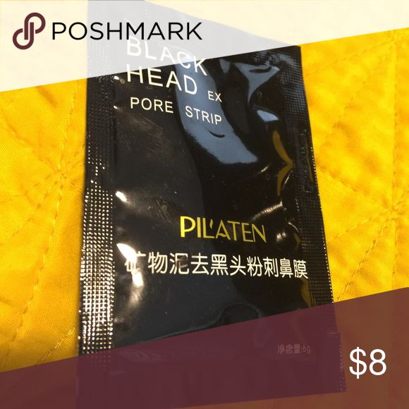 Pilaten Black Head Pore Strip / Korean Beauty Pilaten Black Head Pore Strip; promised to give your entire face an entire deep cleanse! 😊💓 Makeup