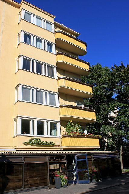 Yellow Balconies | Helsinki