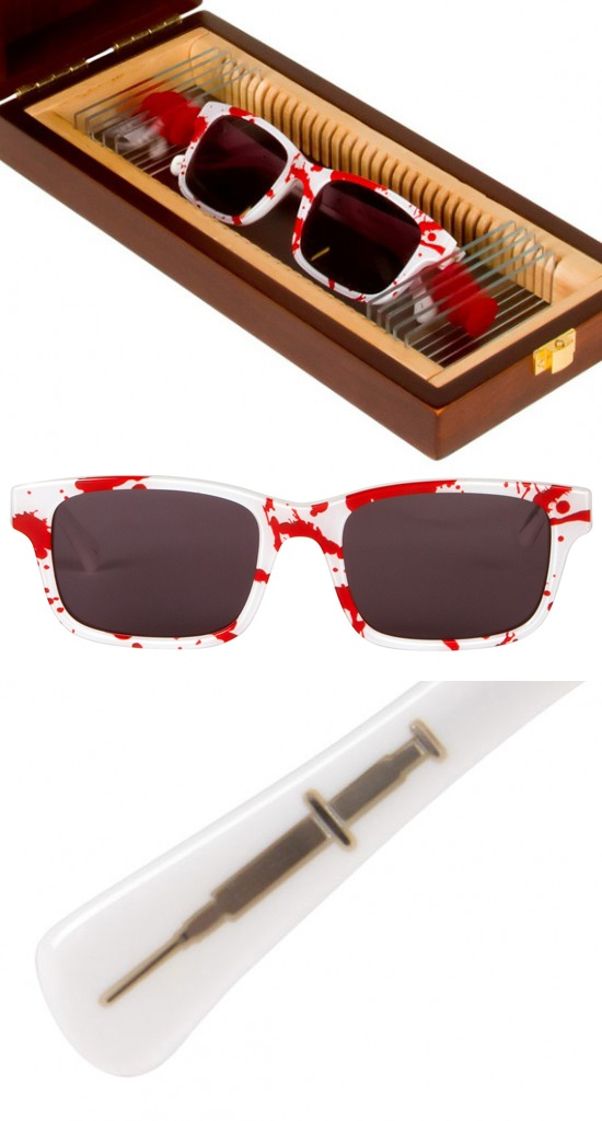 Limited Edition 'Dexter Morgan' Sunglasses by Look/See  via http://shop.lookseegoods.com/products/dexter-x-look-see