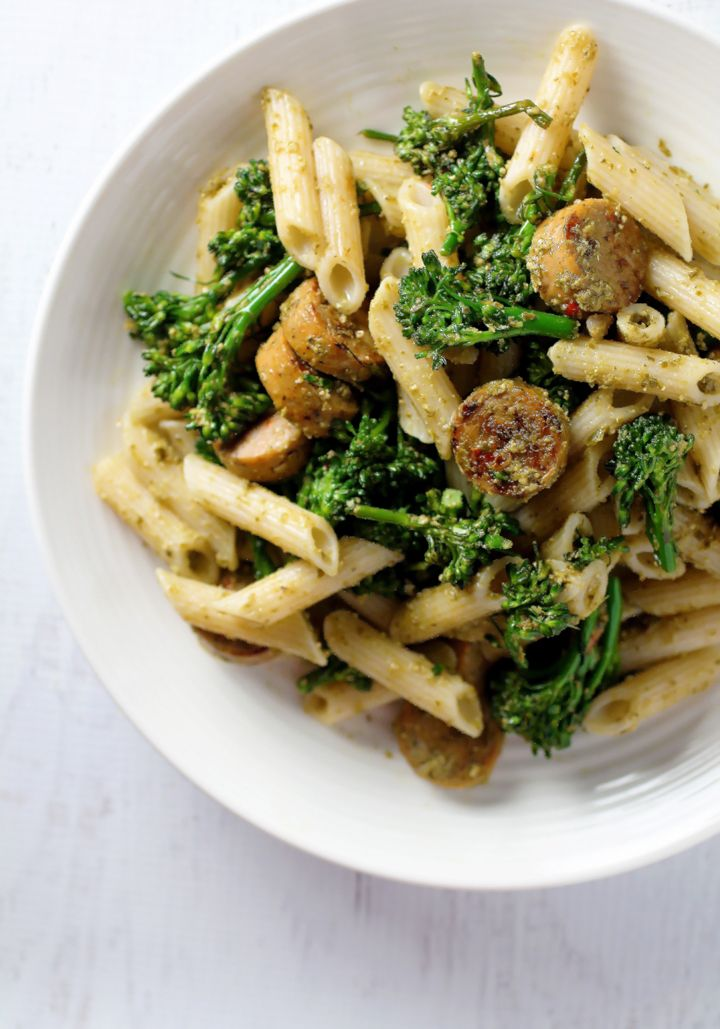 Pasta with Broccolini and Organic Chicken Sausage | Recipe