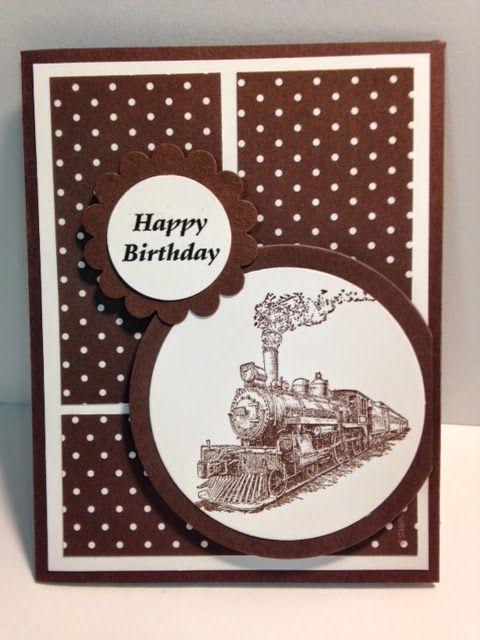 A Traveler Masculine Birthday Card
