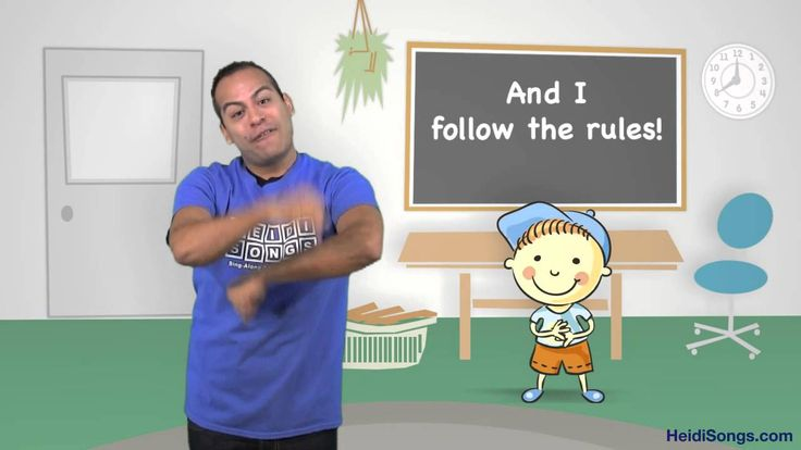 I Can Follow the Rules Song | Music for Classroom Management