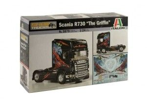 Scania R730 ''The Griffin''     scala 1:24