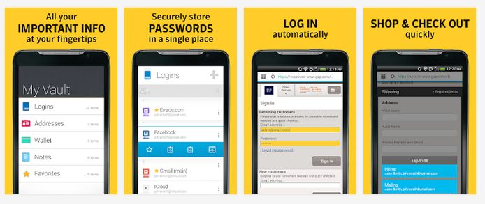 Norton Identity Safe The best and free Android Password Manager