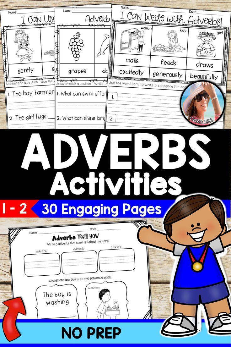 Adverbs Adverbs Worksheets Adverbs Activities Distance Learning Adverb Activities Adverbs Adverbs Worksheet