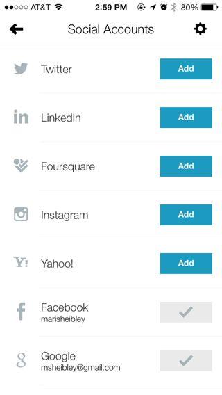 Brewster iPhone lists screenshot