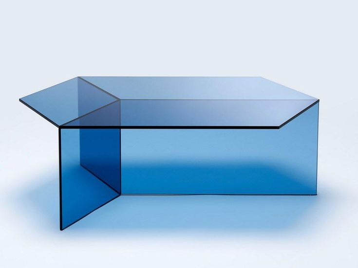 Blue Glass Coffee Tables