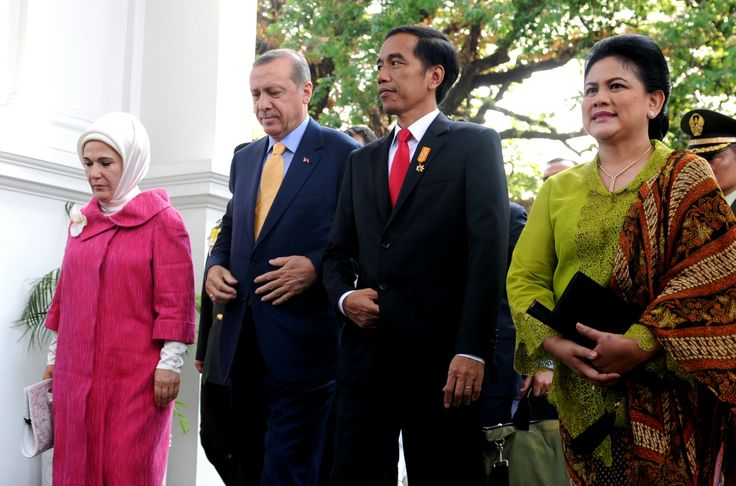 The President of Turkey visit
