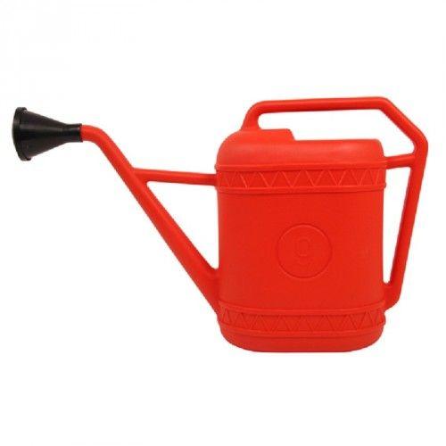 Watering can red 9 liter - tuin - Wonen