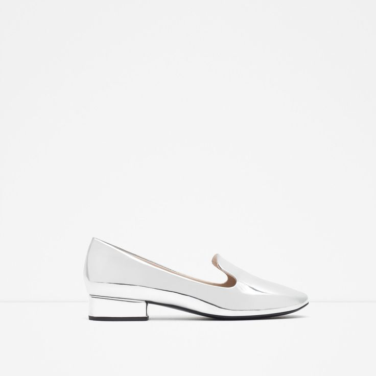 Awesome silver shoes from Zara's SS16 collection. Already bought them