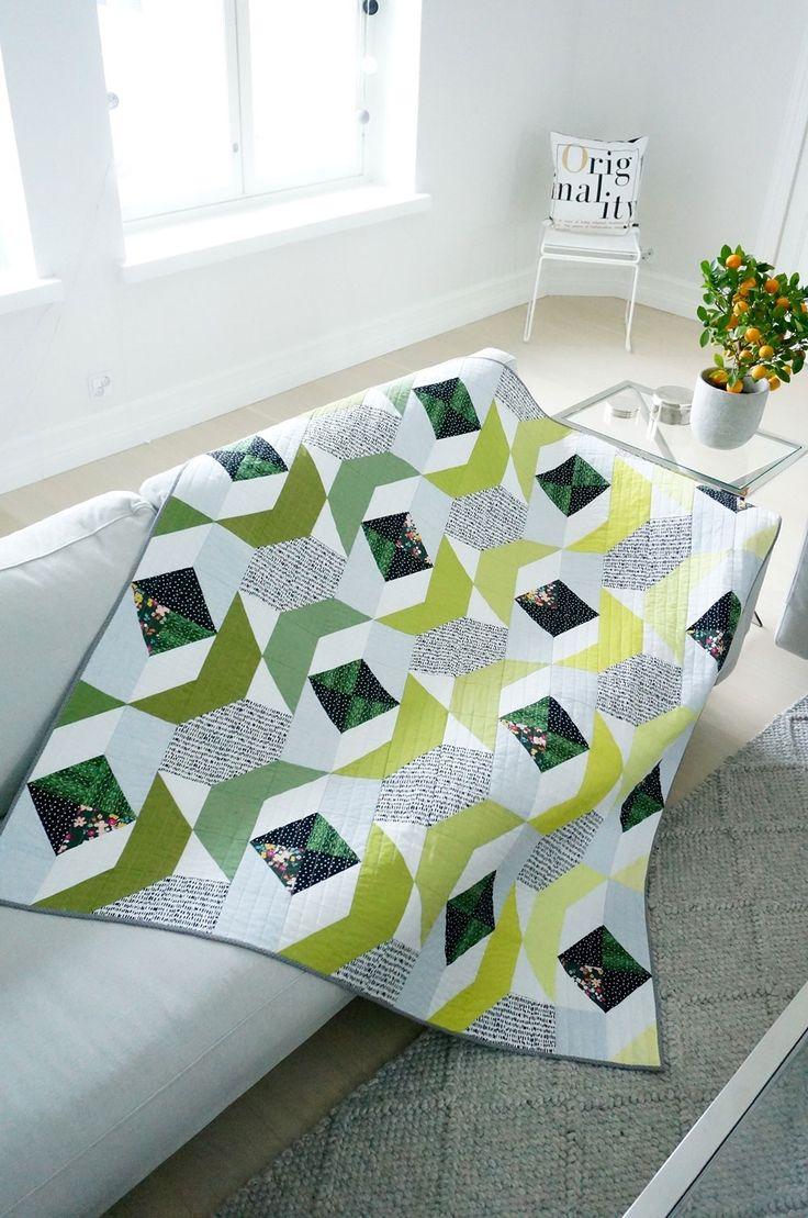 Modern-Green-Quilt