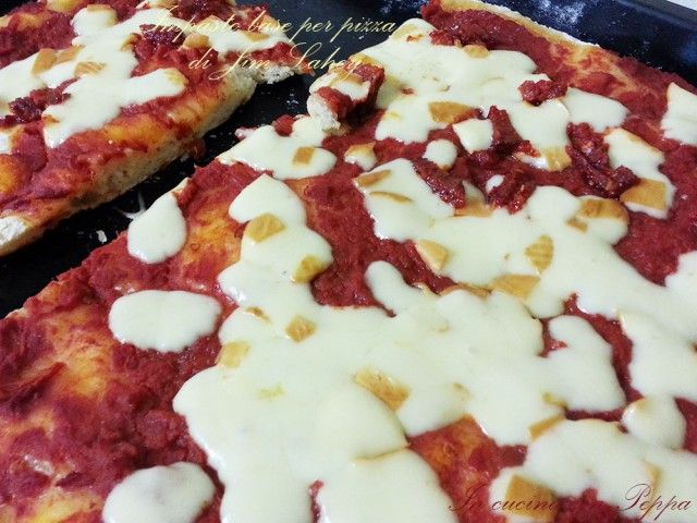 impasto base per pizza di Jim Lahey