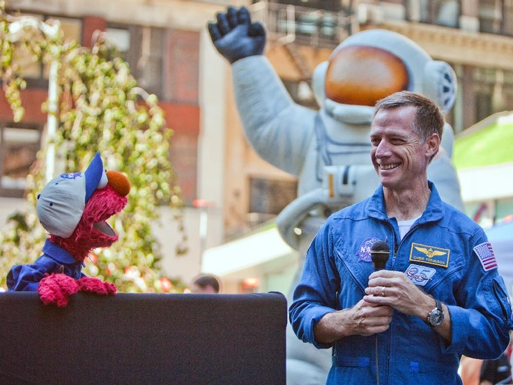 NASA - Elmo and STS-135 Commander Chris Ferguson