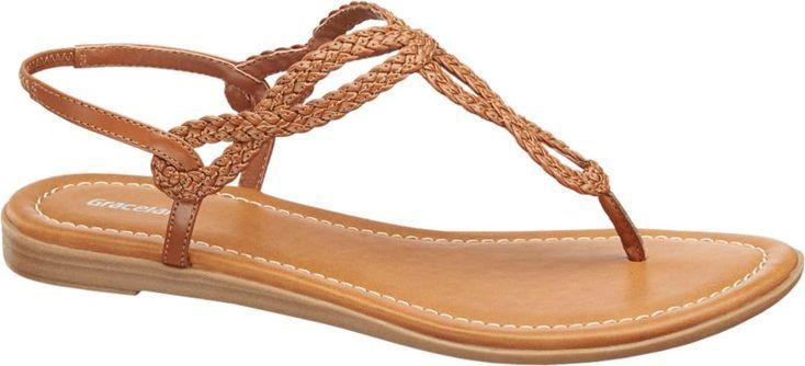 Deichmann Graceland Sandale Braun Alles Deichmann Schuhe Damen Modische Sandalen Damenschuhe