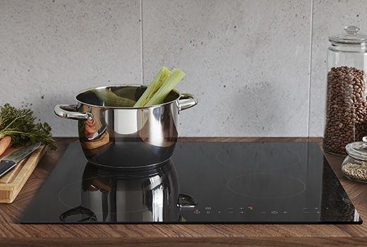 Cucina Induzione Ikea.Piano Cottura A Gas In Vetro Nero Livsgnista Ikea Ikea Nel