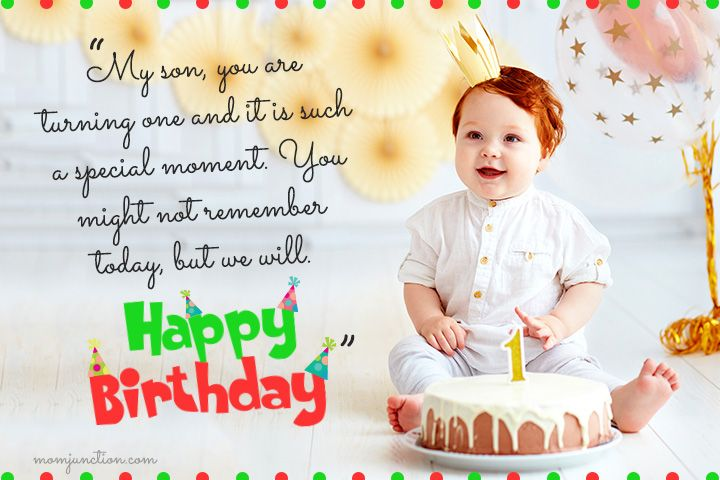 106 Wonderful 1st Birthday Wishes And Messages For Babies 1st Birthday Wishes Birthday Wishes For Son First Birthday Wishes