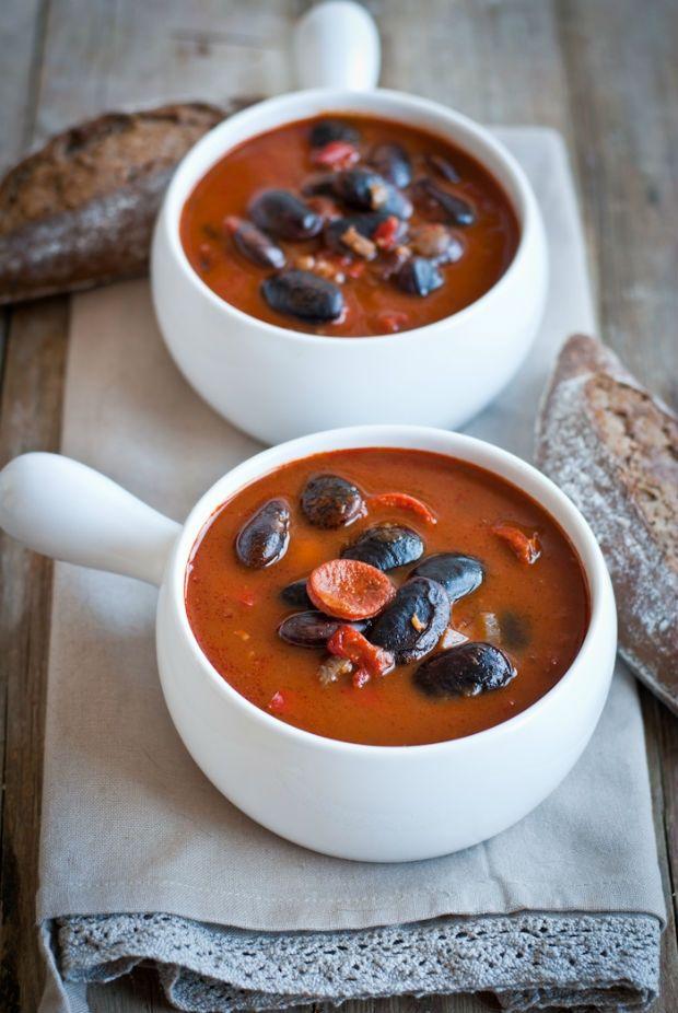 Pikantní fazolová polévka, Foto: Sweet pixel blog