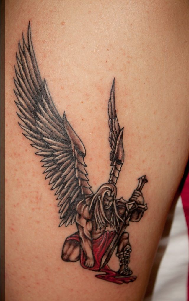 best 25 angel tattoo designs ideas on pinterest angels tattoo angel tattoo arm and beautiful. Black Bedroom Furniture Sets. Home Design Ideas