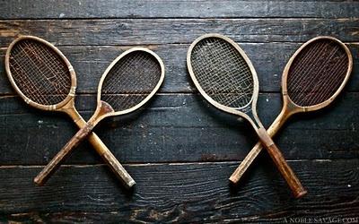 Tennis is the original gentleman's sport.
