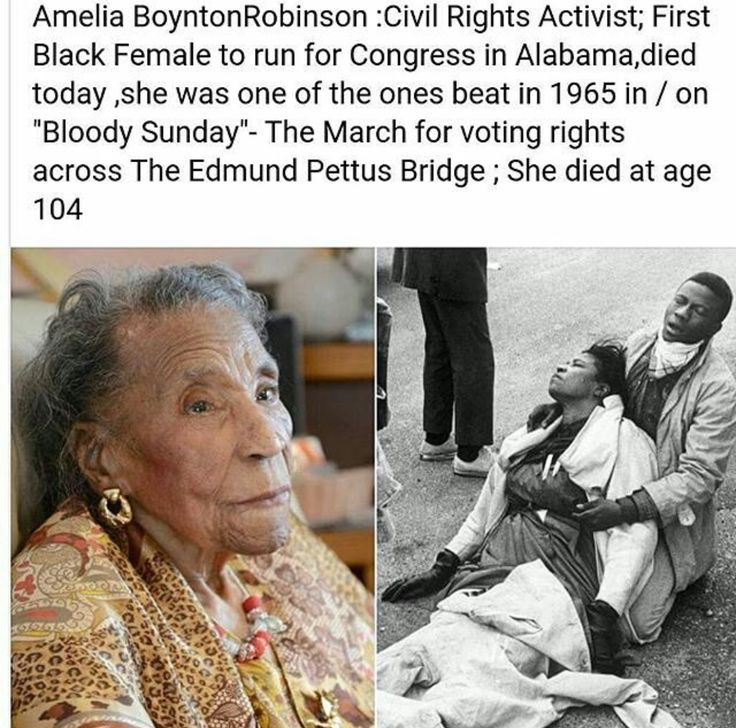 #AmeliaBoyntonRobinson you are appreciated! #CivilRightsMovement