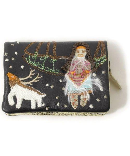 TSUMORI CHISATO(ツモリチサト)「財布(財布)」|ブラック