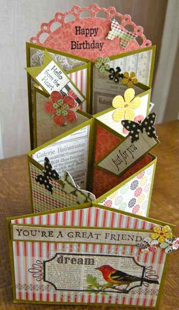 29 best a zig zag cards images on pinterest zig zag 3d cards zig zag card for a special person bookmarktalkfo Gallery