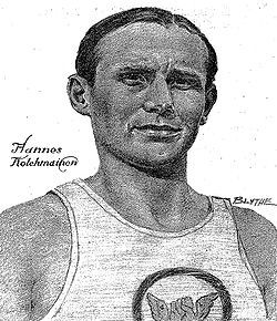 "Hannes Kolehmainen (1889–1966) was a Finnish long-distance runner, born in Kuopio. He is considered to be the 1st of a generation of great Finnish long distance runners, often named the ""Flying Finns"". His brothers Willy and Tatu, also an Olympian, were also strong long distance runners. Hannes #Kolehmainen took three gold medals and one silver from 1912 Stockholm #Olympics. At the first post-war Olympics, 1920 in Antwerp, he ran gold in the Marathon. He found a worthy successor in Paavo…"