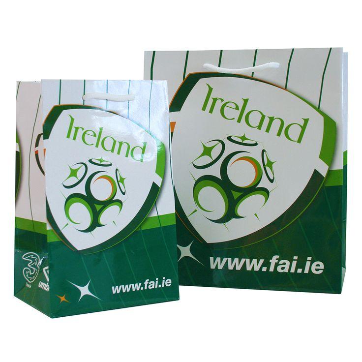 Football Association of Ireland Carrier Bags