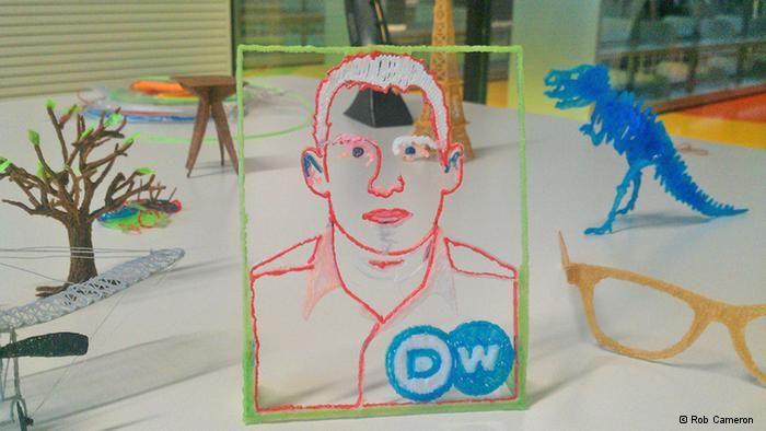 3Dsimo: dibujando en 3D | Cultura | DW.DE | 19.11.2013
