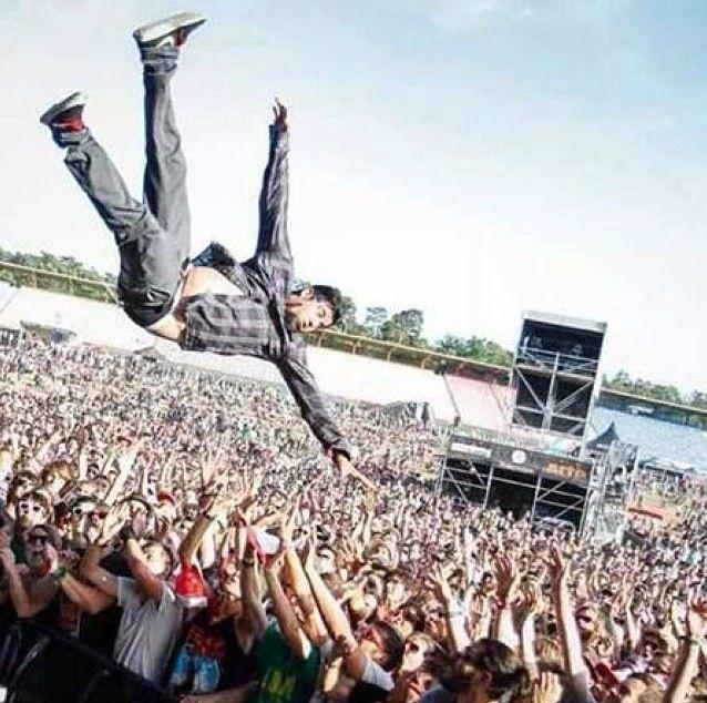 Chino Moreno of The Deftones.