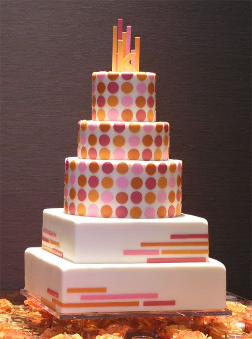 wedding cake stripes and polka dots 17 best images about dots amp stripes wedding cakes on 25766