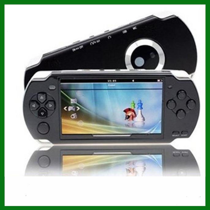 Портативная игровая приставка с дисплеем 4.3 дюйма и памятью 4GB. MP3 MP4 MP5 плеер с камерой, возможностью прослушивания радио и просмотра видео. Портативная игровая консоль с функциями мультимедийного проигрывателя