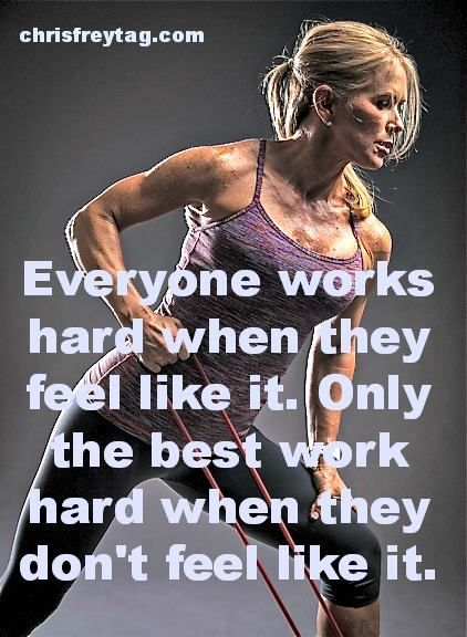 Work Hard even when you don't want to