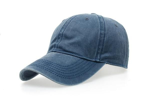Navy Blue Colorful Polo Plain Caps - Just 9.95$