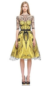 McQueen Perfection. As per usual. Gorgeous. Graphic. State-of-the-art.