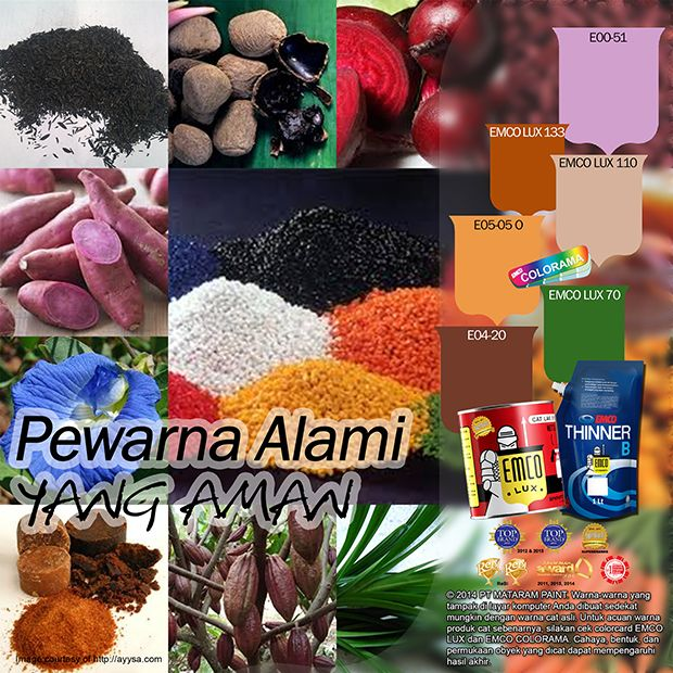 Pewarna Alami yang Aman #color #your #food #likeforlike  http://matarampaint.com/detailNews.php?n=421