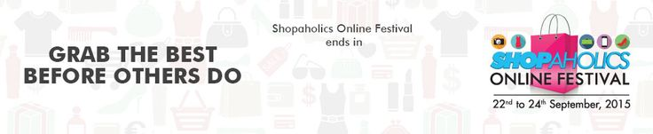 Axis Bank Shopaholics Online Festival Offer : Axis Bank 22-24 September Offer - Best Online Offer