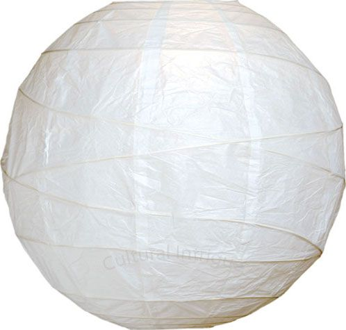 White 24 Inch Large Round Paper Lanterns (free-style ribbing) $11.75   Megan … scale is good on these- but would like to also give source option for style shown in dining room photo.   quantities:100