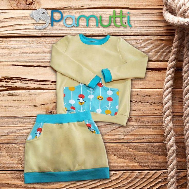 Vagány szett kislányoknak :) Egyedi rendelés: www.pamutti.hu