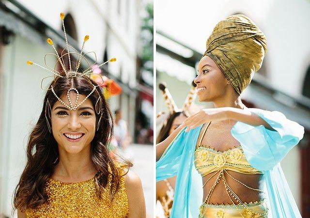 Fantasias Criativas para Carnaval 2016, Halloween e Festas