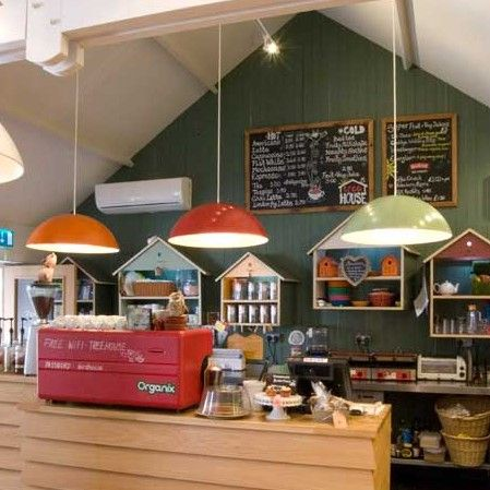 indoor play coffee shop counter - interior design bournemouth