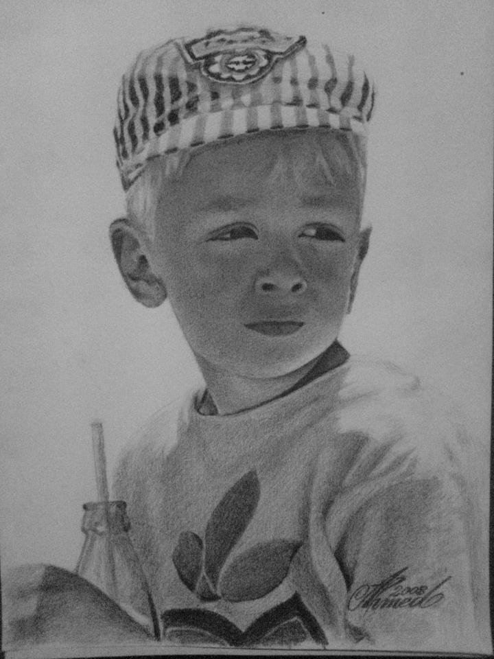 Pencil on A3 paper (42 x 29.7 cm)