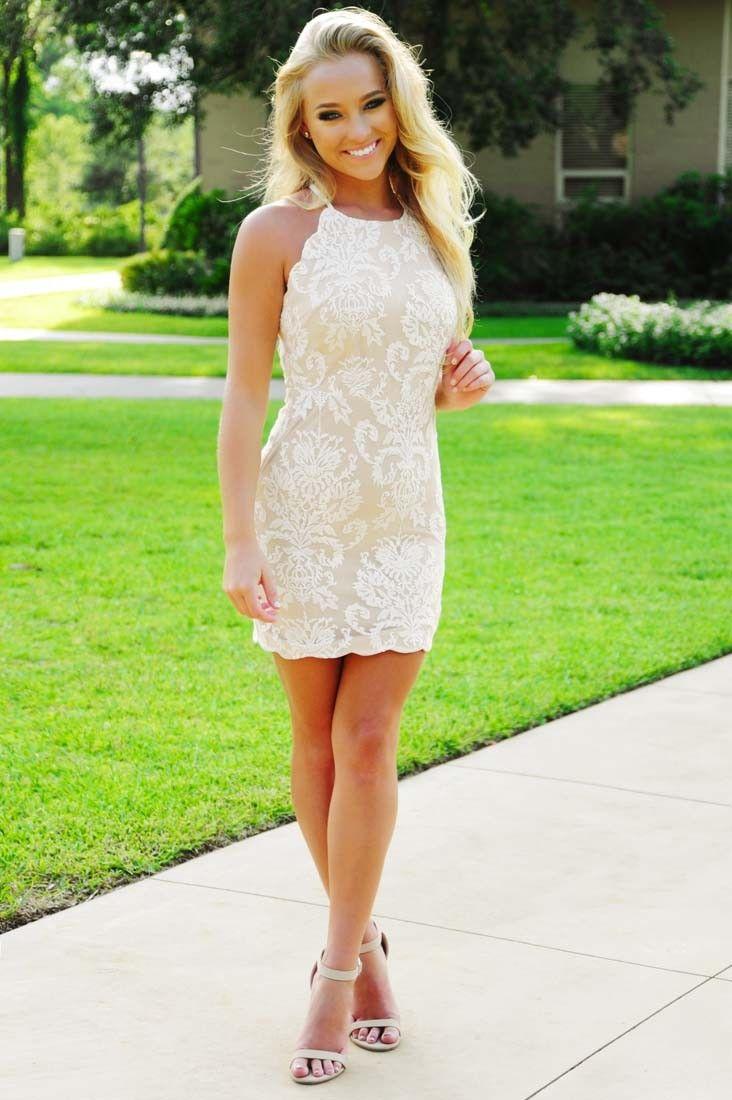 Some Say It's Love Dress: White #shophopes