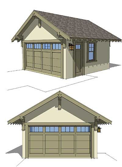 Plan 44080td craftsman style detached garage plan house for Craftsman style storage sheds