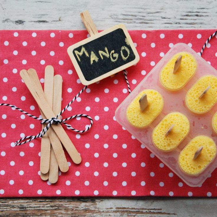 Sorbet jogurtowy o smaku mango