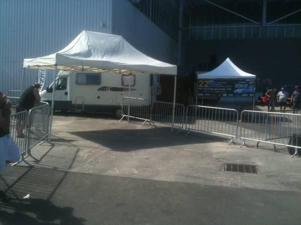 tente de recetion 8 mètres x 4 mètres
